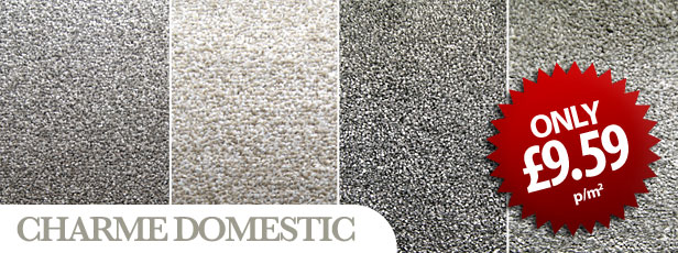 Charme Domestic Carpet only £9.59 sq/m