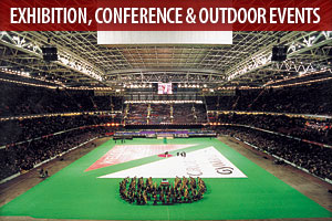 Carpets for Exhibitions, Conference & Outdoor events