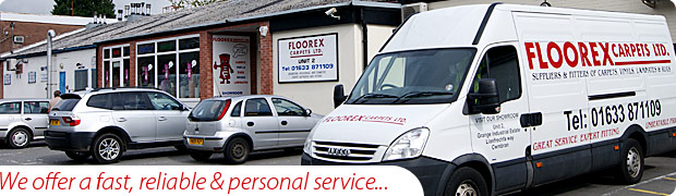 Floorex offer a fast and reliable service