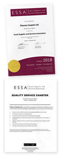 Essa approved Supplier